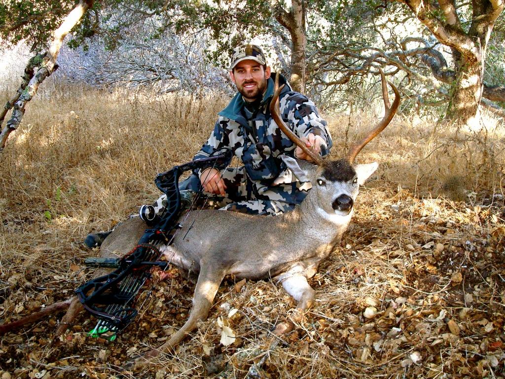 """They Look Like Small Mule Deer""""   - California B Zone Deer Hunting Map"""