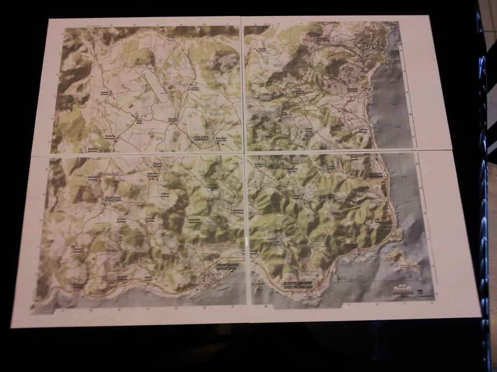 Think I Might Be Taking Dayz A Bit Too Seriously. : Dayz - Printable Dayz Standalone Map