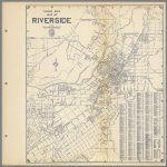 Thomas Bros. Map Of Riverside, California.   David Rumsey Historical   Printable Map Of Riverside Ca
