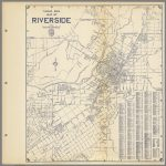Thomas Bros. Map Of Riverside, California.   David Rumsey Historical   Printable Map Of Riverside County
