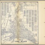 Thomas Bros'. Map Of The City Of Long Beach, California. - David - Printable Map Of Long Beach Ca