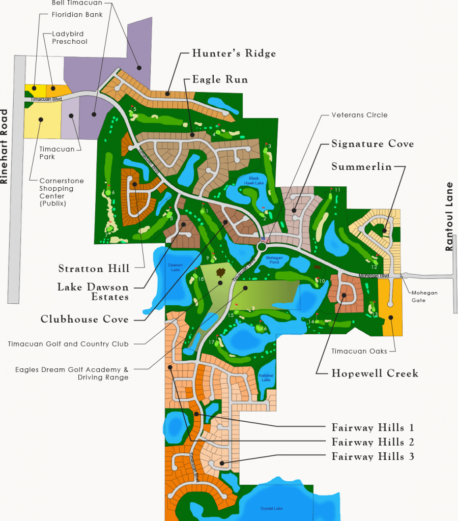 Timacuan Community Information   Lake Mary, Florida - Map Of Lake Mary Florida And Surrounding Areas