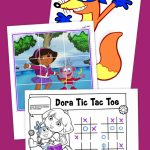 Top 10 Dora The Explorer Printables Of All Time | Nickelodeon Parents   Dora Map Printable