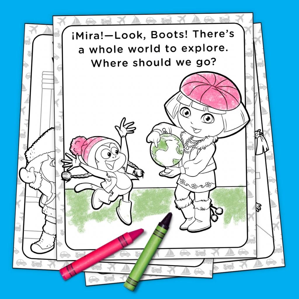 Top 10 Dora The Explorer Printables Of All Time   Nickelodeon Parents - Dora Map Printable