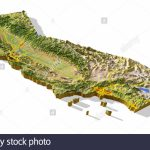 Topographic Map California Photos & Topographic Map California   California Terrain Map