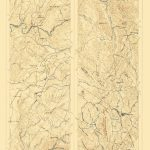 Topographical Map   Mother Lode District California 1 Of 2   1899   California Mother Lode Map
