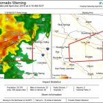 Tornado Warning: ⚠ Tornado Warning Including Live Oak Fl   Mcalpin Florida Map