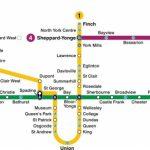 Toronto Subway Map 2019 | Toronto-Info - Toronto Subway Map Printable