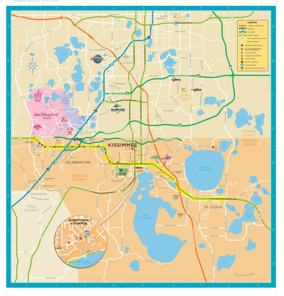 Trail Maps Wiki / Florida - Osceola - County, Louis Charleron - Map Of Osceola County Florida