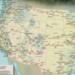 Train Links California State Map California Zephyr Route Map Amtrak   California Zephyr Map