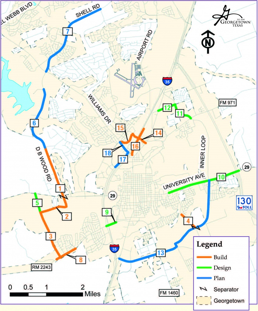 Transportation Bond Election 2015 – Bonds - Georgetown Texas Map