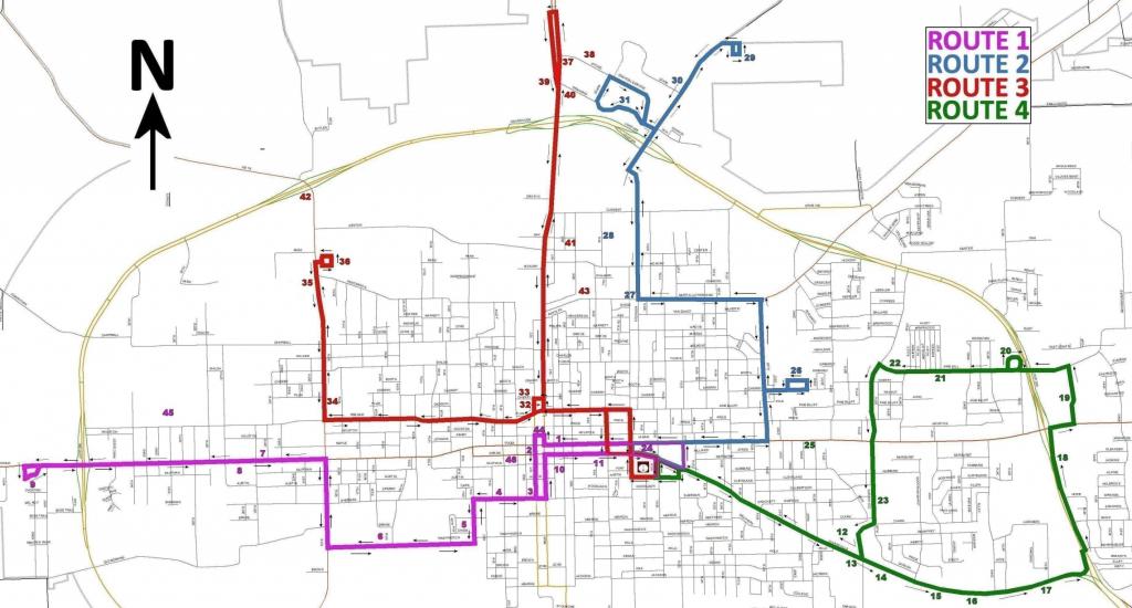 Transportation For America – The Paris Metro In Small-Town Texas - Paris Texas Map