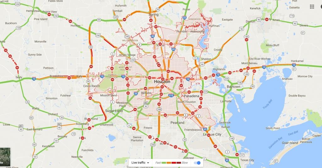 Transportation Shutdown In Southeast Texas; How We Roll, Aug. 28 - Google Maps Pasadena Texas