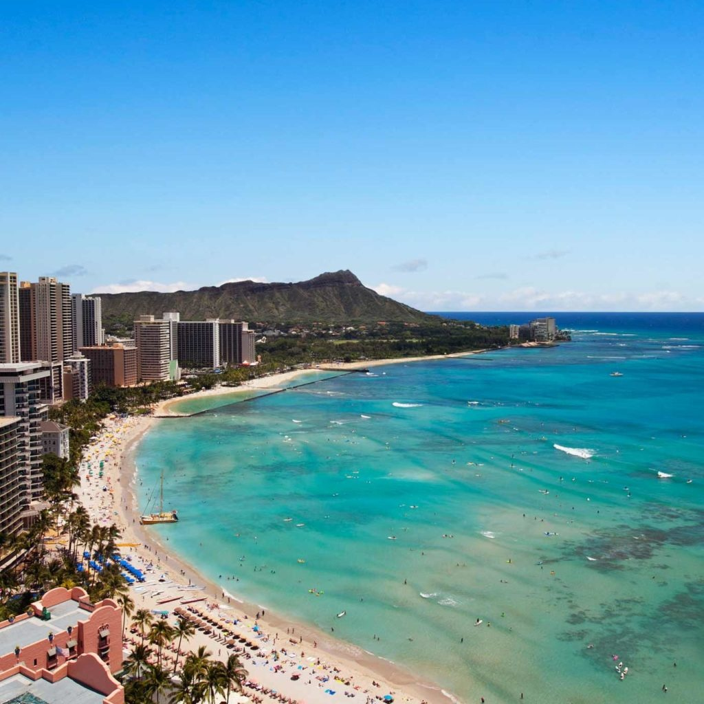 Travel Inspiration - Destination Guide To Hawaii | Marriott Hawaii - Starwood Hotels California Map