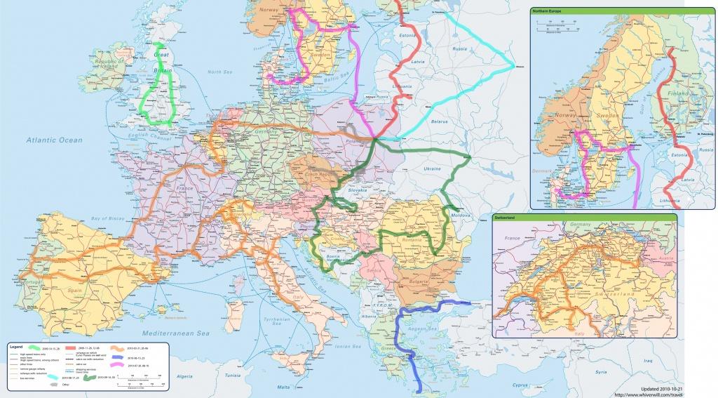 Travel Maps Of Europe ~ Cinemergente - Europe Travel Map Printable