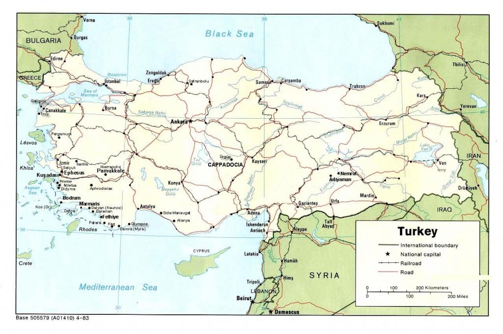 Turkey Maps | Printable Maps Of Turkey For Download - Printable Map Of Turkey