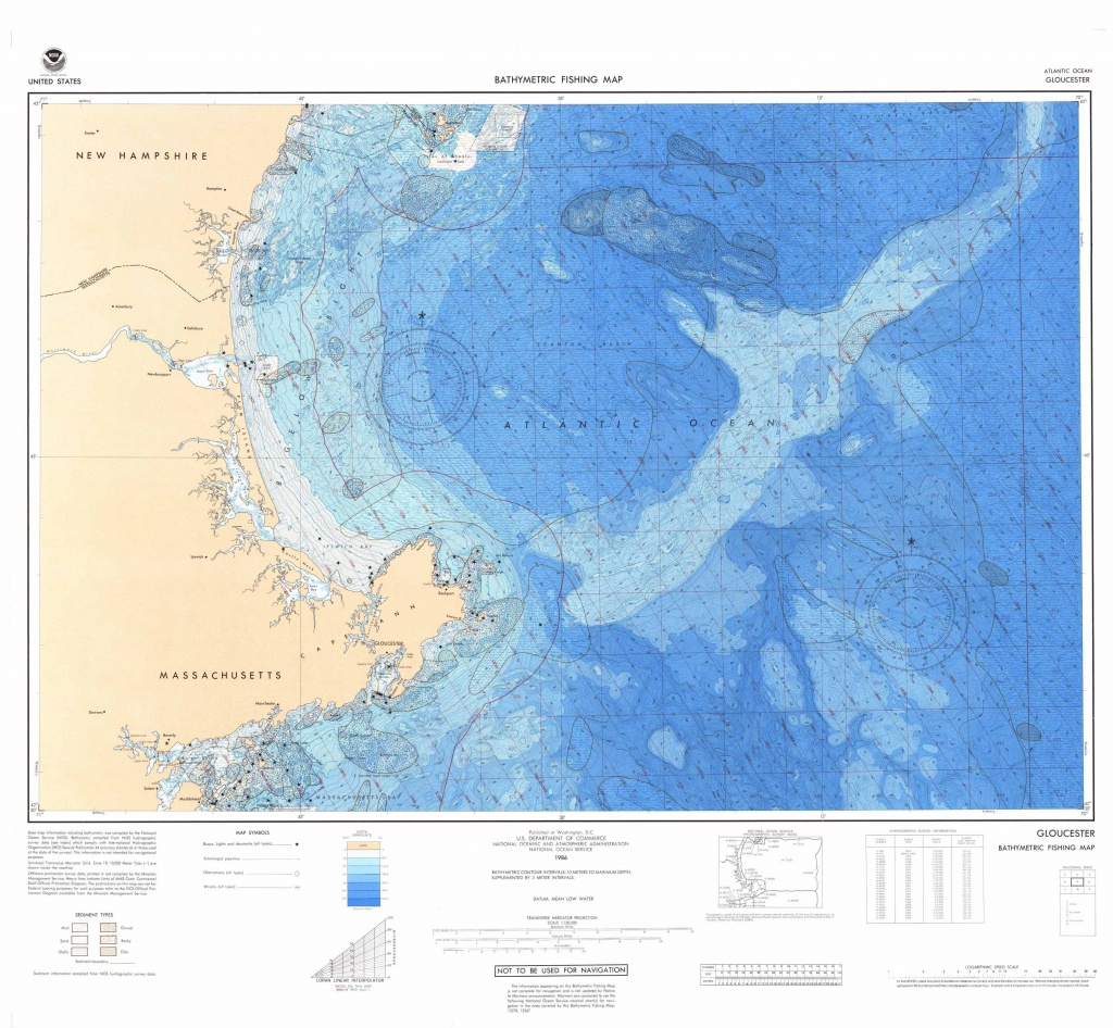 U.s. Bathymetric And Fishing Maps | Ncei - Texas Fishing Maps Free