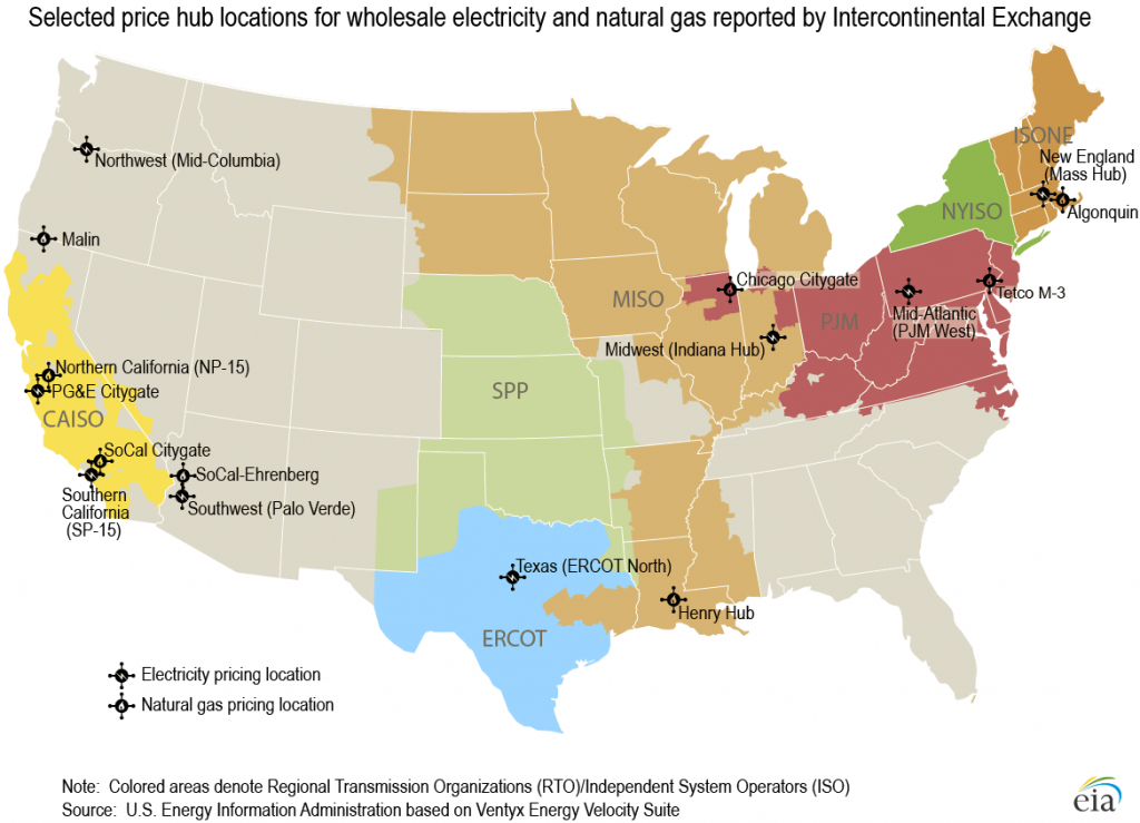 U.s. Energy Information Administration (Eia) - Ap - California Electric Utility Map