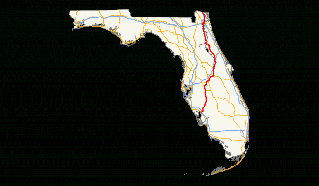 U.s. Route 17 In Florida - Wikipedia - Silver Springs Florida Map