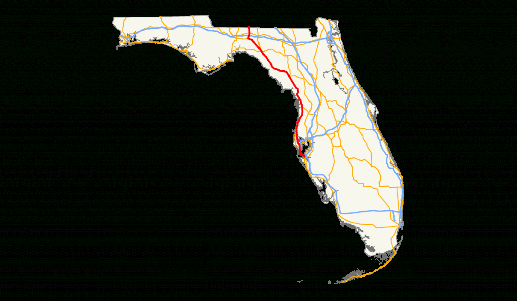 U.s. Route 19 In Florida - Wikipedia - Florida Rest Areas Map