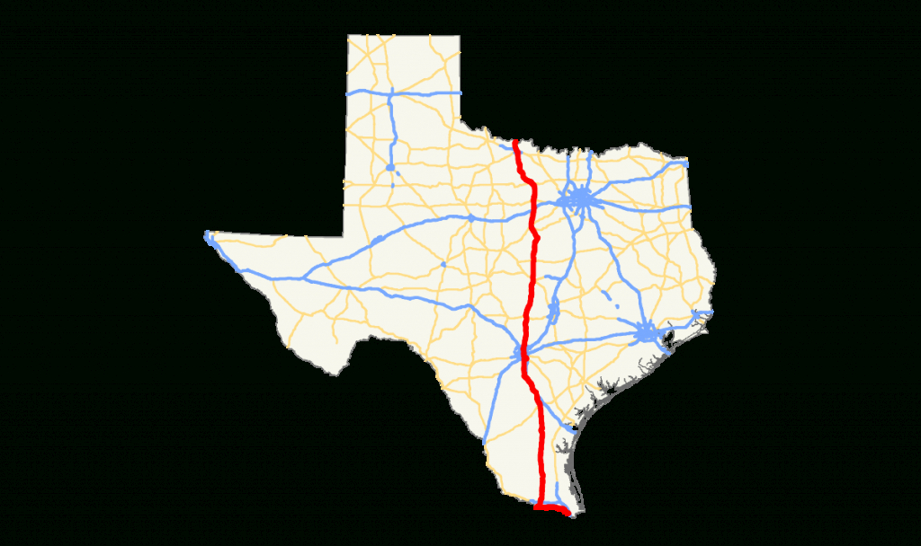 U.s. Route 281 In Texas - Wikipedia - Texas Mile Marker Map I 20