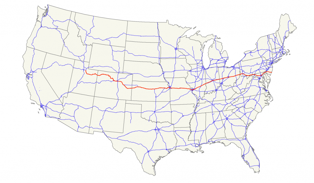 U.s. Route 40 - Wikipedia - Map Of I 40 In Texas