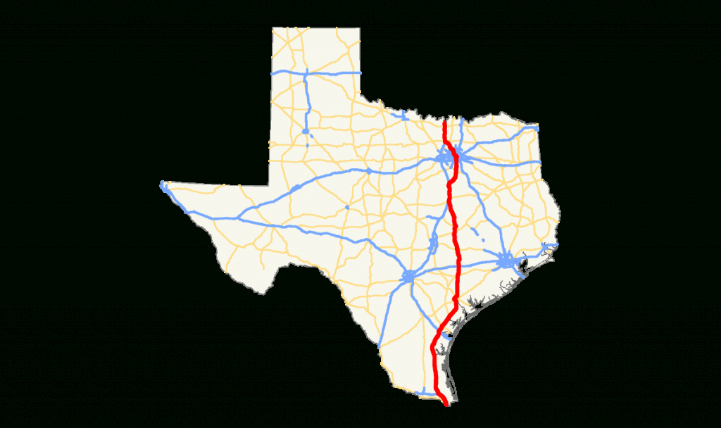U.s. Route 77 In Texas - Wikipedia - Ennis Texas Map