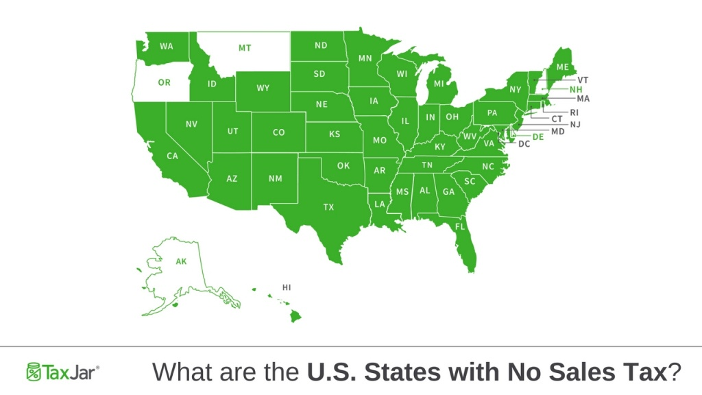 U.s. States With No Sales Tax - Florida Property Tax Map