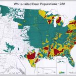 Uga : Scwds - Historic Wildlife Range Maps - Mule Deer Population Map Texas