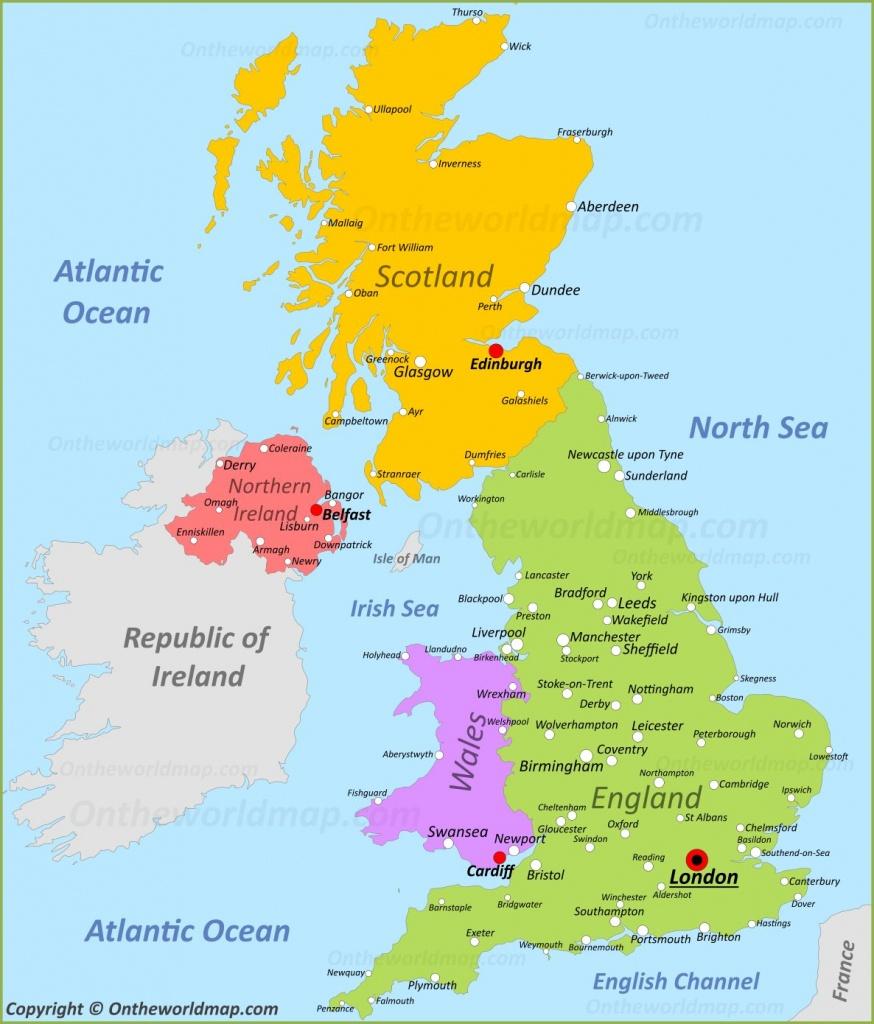 Uk Maps   Maps Of United Kingdom - Printable Map Of Britain