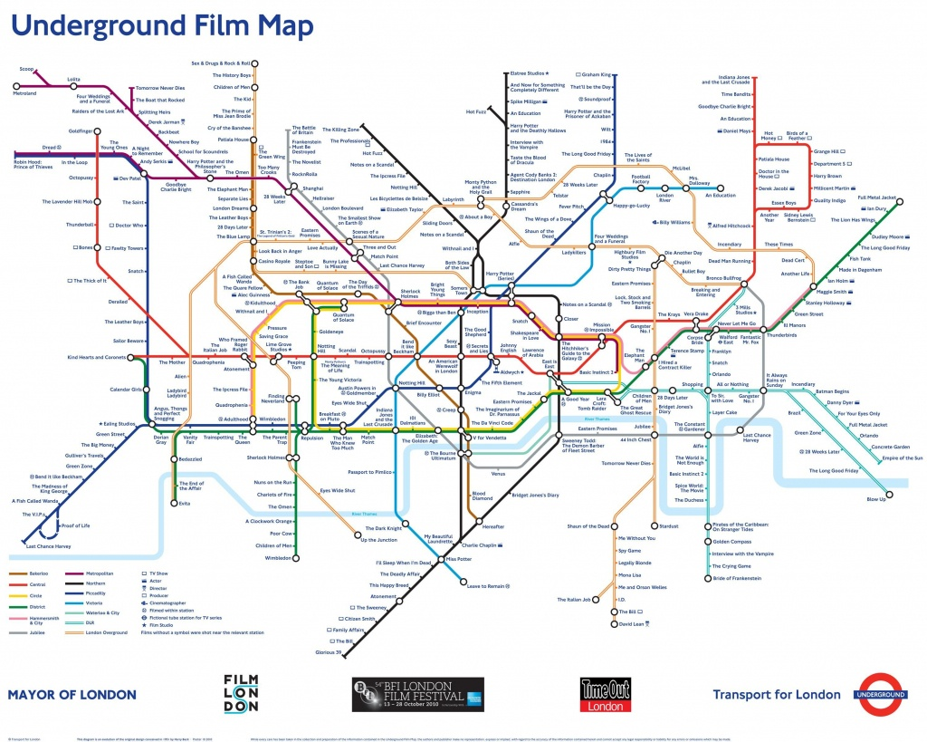Underground Film Map Poster | London Transport Museum Shop | House - London Underground Map Printable A4