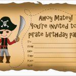 Unique Free Pirate Invitation Template | Best Of Template   Maps For Invitations Free Printable