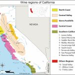 United States Map Of Vineyards Wine Regions   Central California Wineries Map