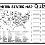 United States Map Quiz Online Free Refrence Printable United States   United States Map Puzzle Printable
