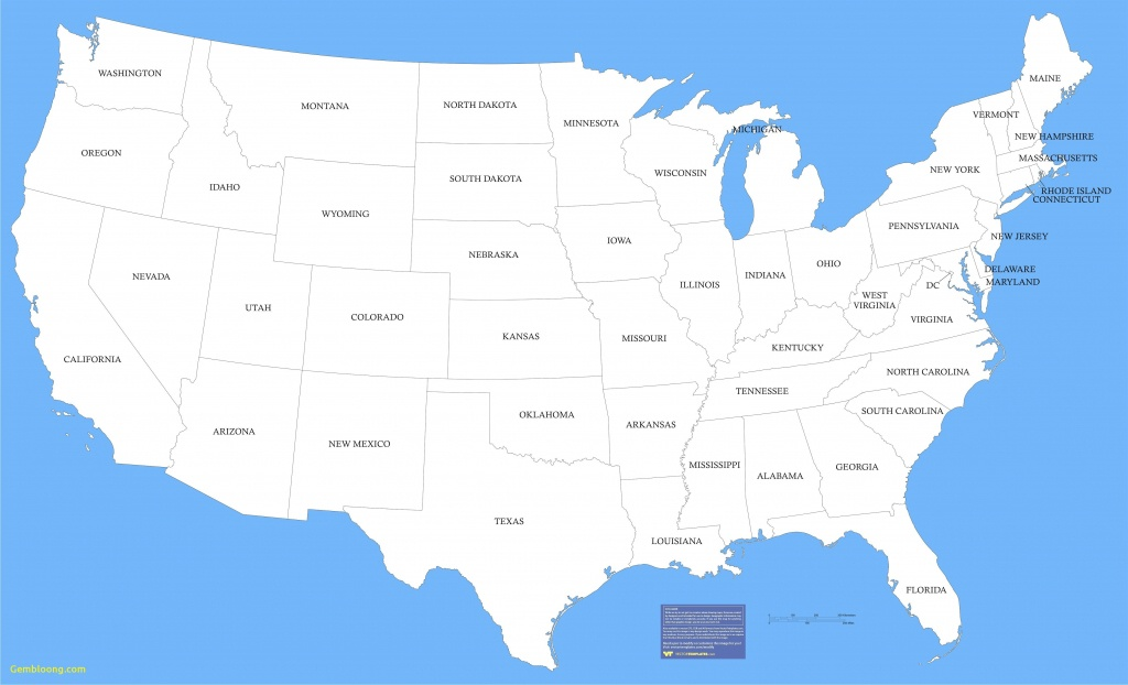United States Of America - Maplewebandpc - Us Regions Map Printable