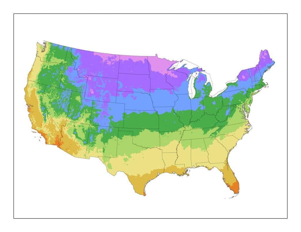 United States Plant Zone Map | Plantaddicts - Florida Growing Zones Map