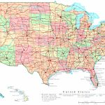 United States Printable Map   Printable Map Of Usa States And Cities