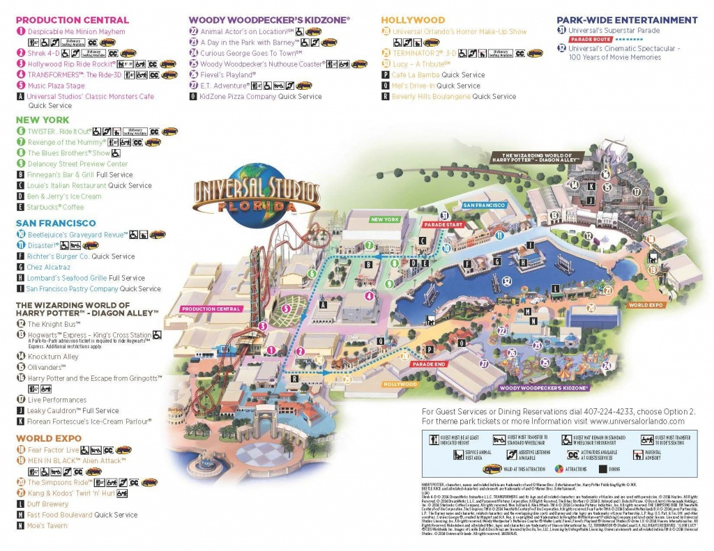 Universal Map   Universal ❤   Universal Studios Orlando Map - Printable Map Of Universal Studios Orlando