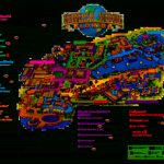 Universal Orlando Park Map 2013 | Orlando Theme Park News: Wdw   Florida Theme Parks On A Map