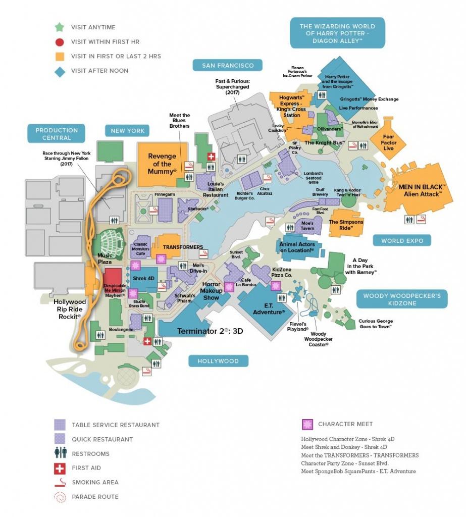 Universal Studios Florida™ General Map | Universal Studios In 2019 - Universal Studios Florida Hotel Map