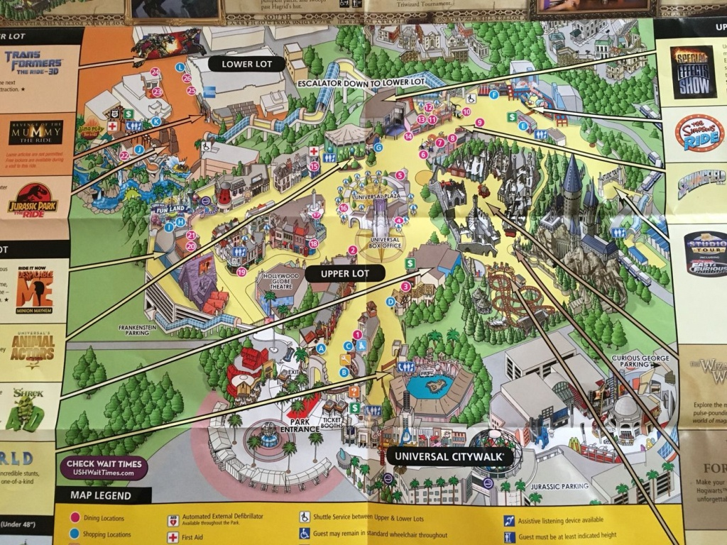 Universal Studios Hollywood | Favorite Places!! | Universal Studios - Universal Studios Map California 2018