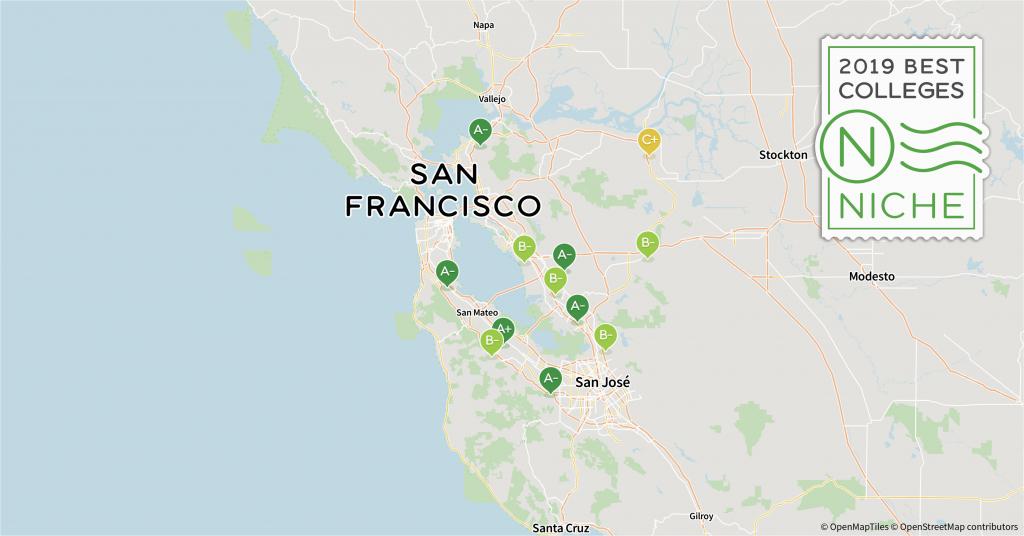 Universities In Northern California Map 2019 Best Colleges In San - Colleges In California Map