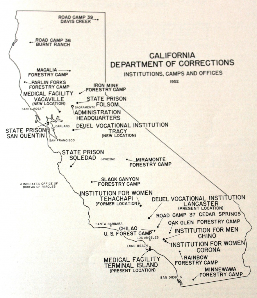 Unlocking History: California Men's Colony Was Once Wwii Military - California Prisons Map
