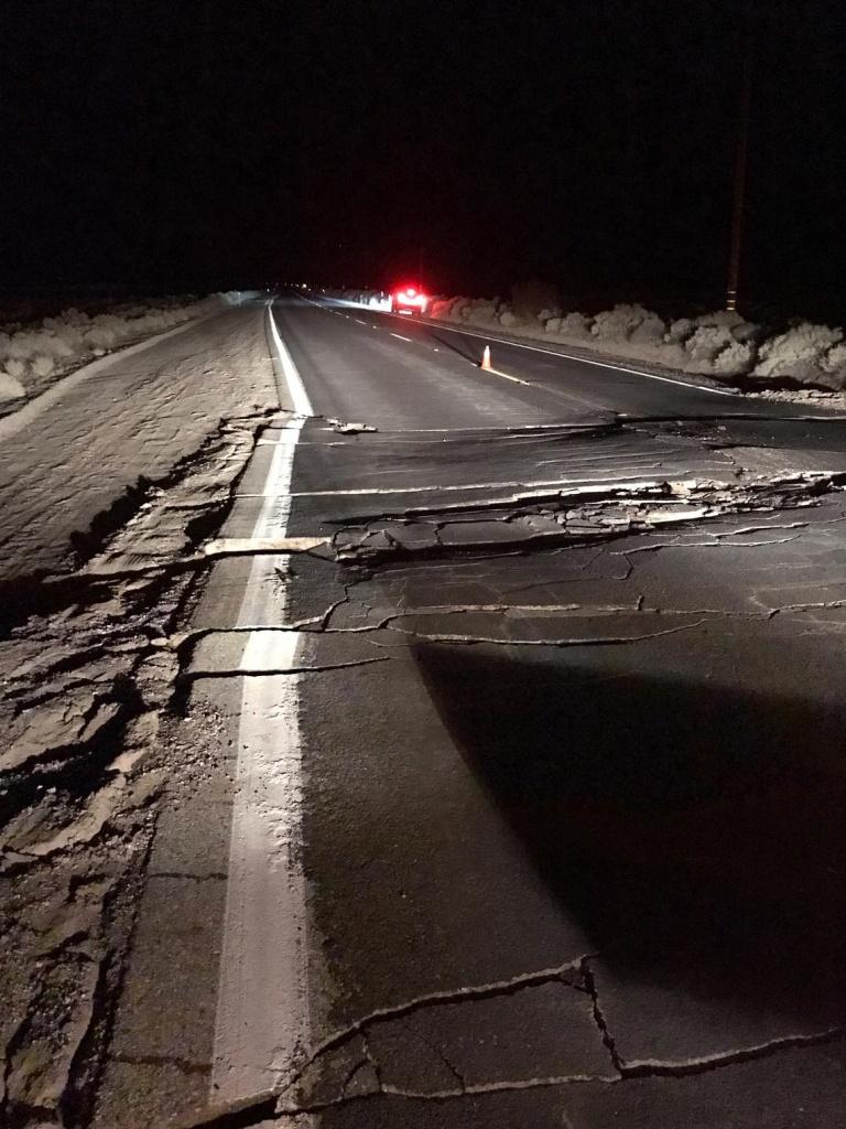 Update: Magnitude 7.1 Earthquake In Southern California - Usgs Gov California Earthquake Map