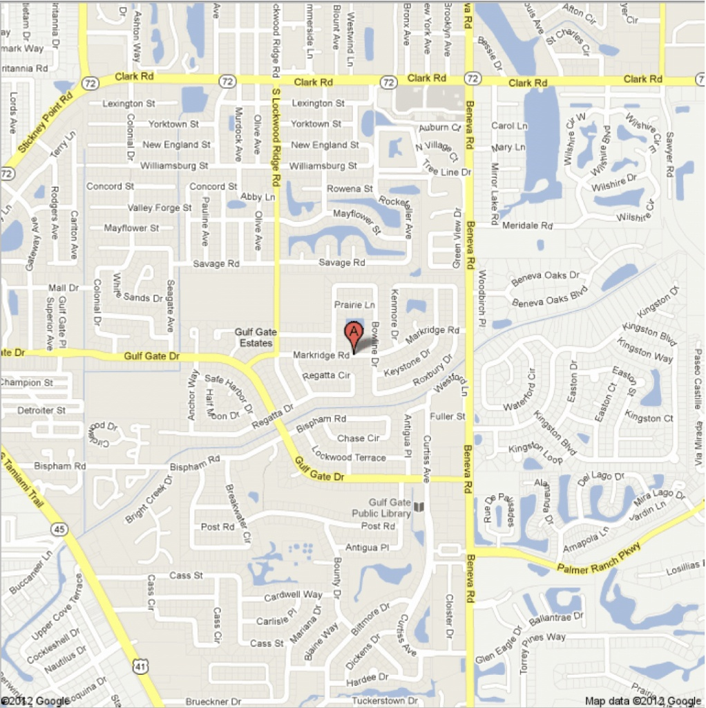 Updated Markridge Road, Sarasota, Fl – Google Maps - Google Maps Sarasota Florida