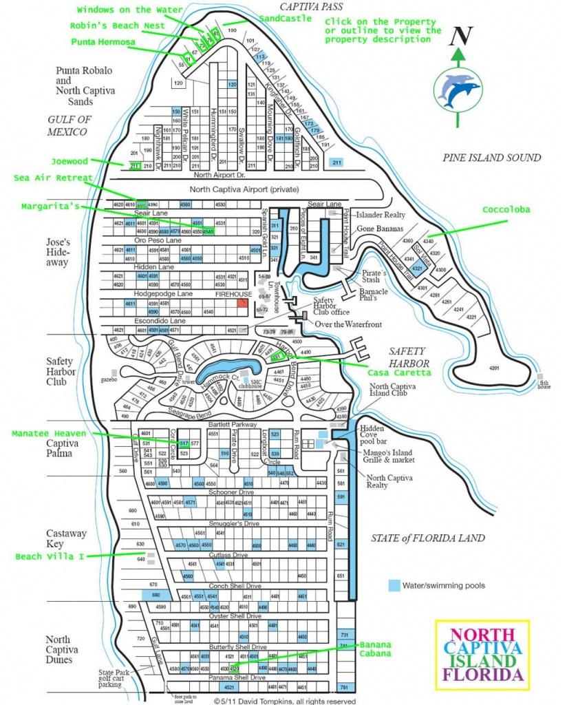 Upper Captiva Island Map | Favorite Places & Spaces | Captiva Island - Captiva Island Florida Map
