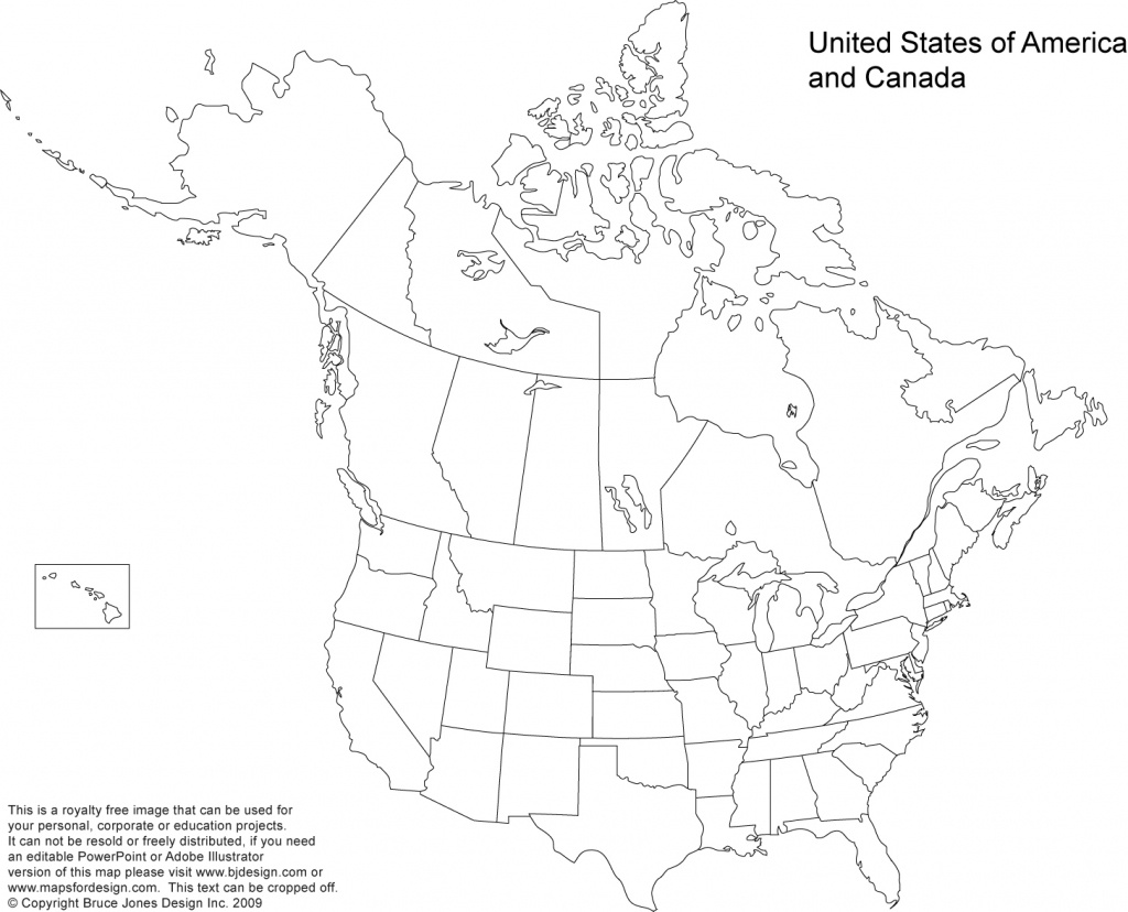 Us And Canada Printable, Blank Maps, Royalty Free • Clip Art - Printable Map Of Us And Canada