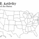 Us Map Outline With State Names Save United States Map Printable - Blank Us Map With State Outlines Printable