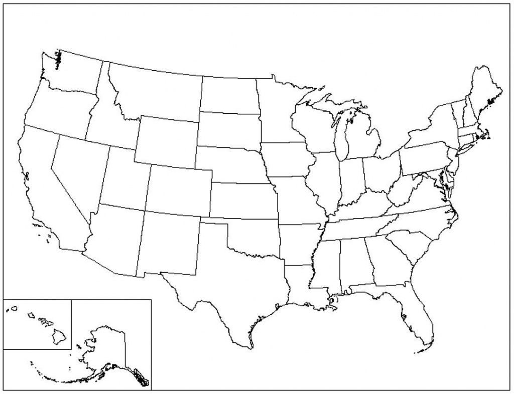Us Map Printable Pdf Blank Us State Map Printable Printable United - Usa Map Printable Pdf