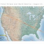 Us Map Time Zones Printable With State Name | Travel Maps And Major   Printable Eclipse Map